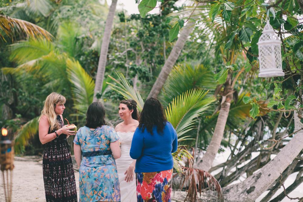 J Wiley Los Angeles Destination Wedding Photographer St John Virgin Islands wedding photography tropical sunset Oppenheimer beach travel fun DIY offbeat coral mismatched dresses first look handmade-6509