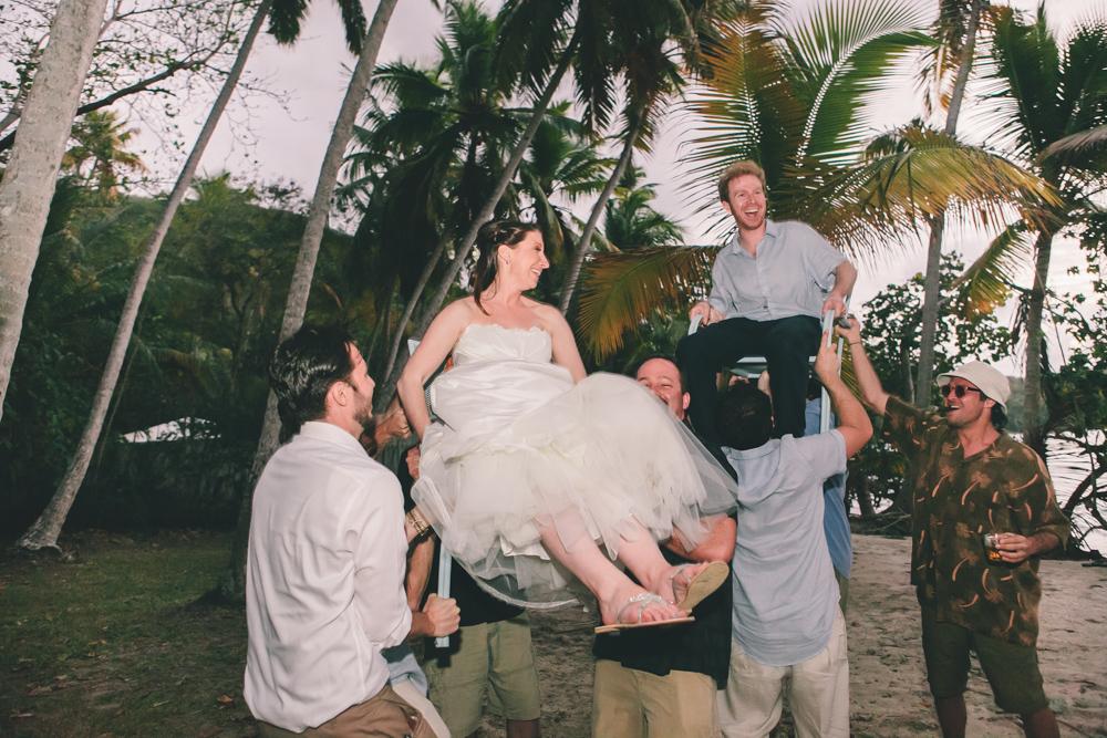 J Wiley Los Angeles Destination Wedding Photographer St John Virgin Islands wedding photography tropical sunset Oppenheimer beach travel fun DIY offbeat coral mismatched dresses first look handmade-6627