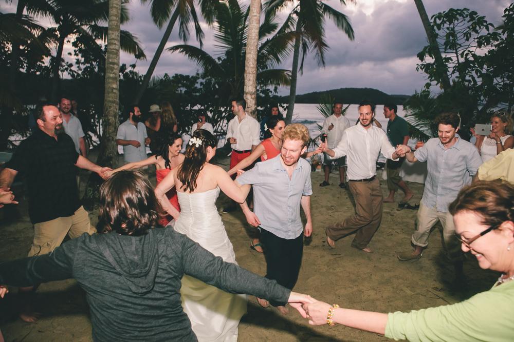 J Wiley Los Angeles Destination Wedding Photographer St John Virgin Islands wedding photography tropical sunset Oppenheimer beach travel fun DIY offbeat coral mismatched dresses first look handmade-6650