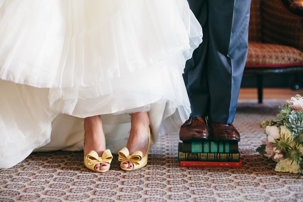 J Wiley Photography Los Angeles Wedding Photographer Carondelet House Downtown Urban DIY Indie Nontraditional Mismatched Library Books-8