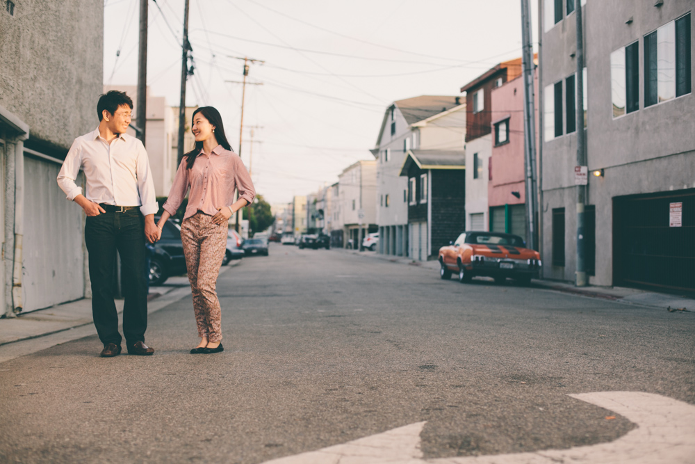 Venice Canals Engagement Photographer Santa Monica Wedding Photographer Offbeat Casual Fun Indie Candid Contemporary-1124