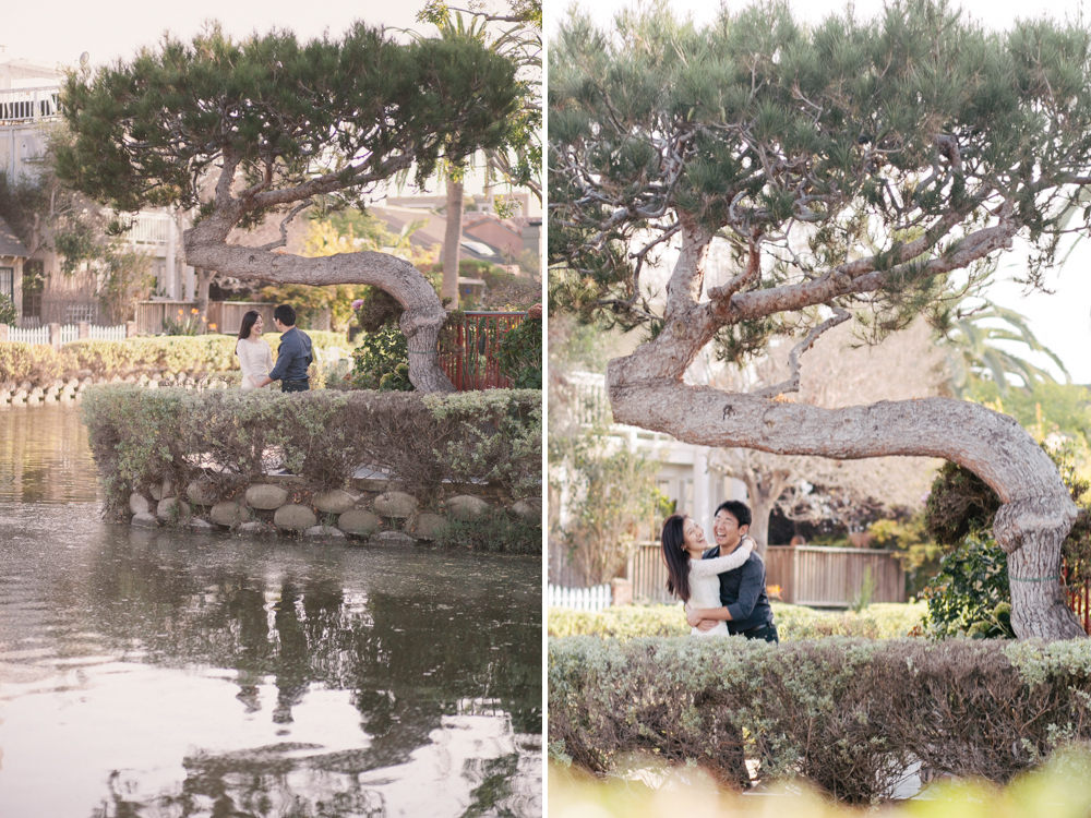 Venice Canals Engagement Photographer Santa Monica Wedding Photographer Offbeat Casual Fun Indie Candid Contemporary
