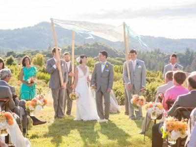 Carrie + Sean: Mayacamas Ranch Destination Wedding Photography: Calistoga, CA