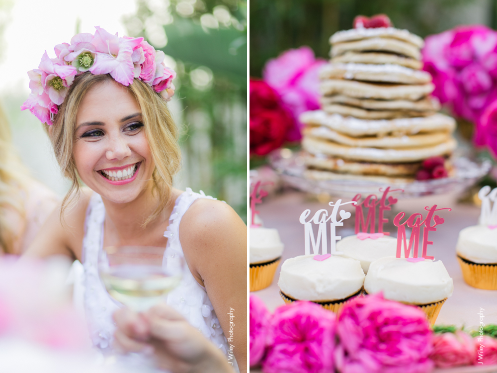 J Wiley Photography washbow wedding photographer pink ombre bridesmaids balloons cupcakes-3107