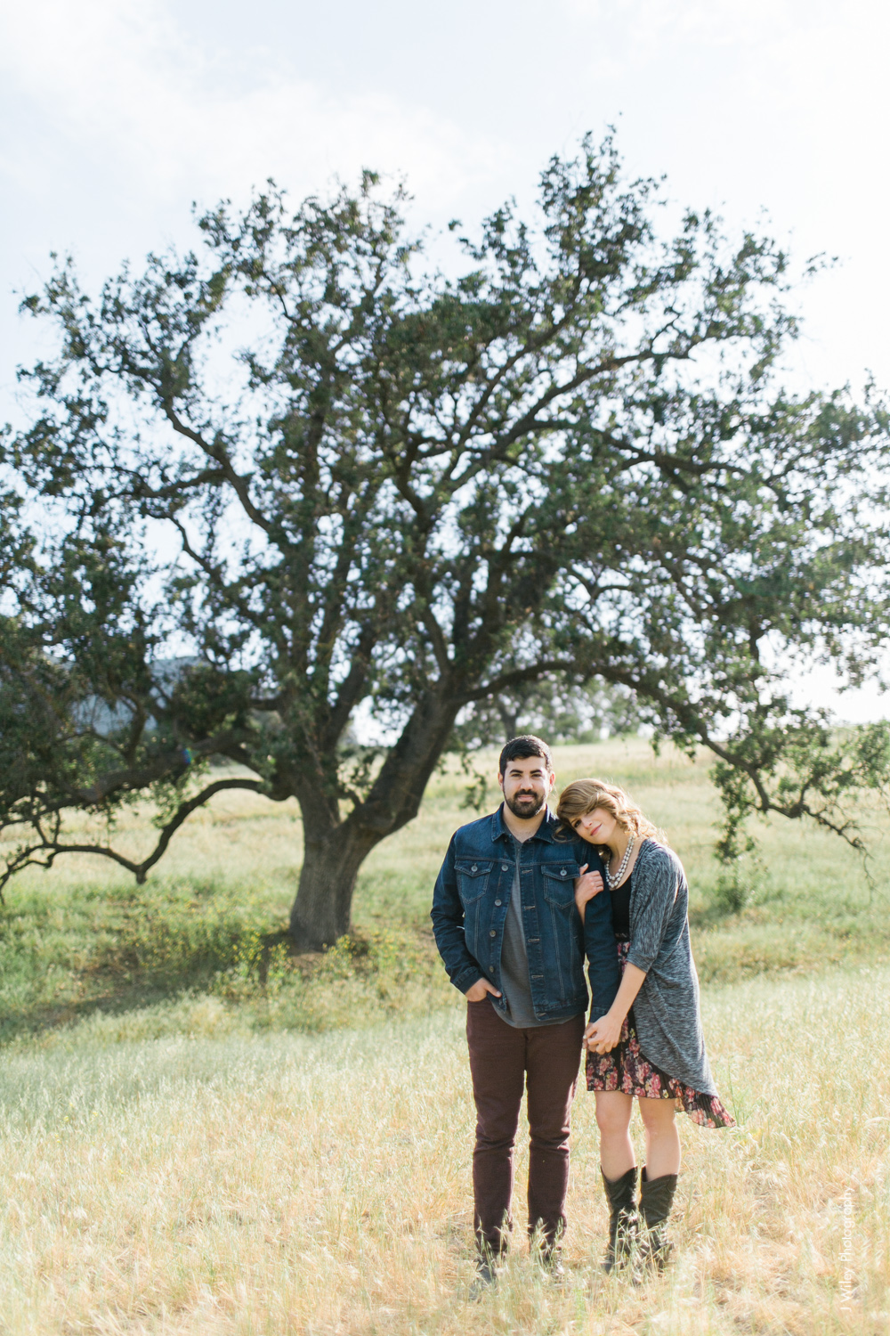 malibu engagement photography los angeles wedding photographer candid indie field mountains wildflowers-1038