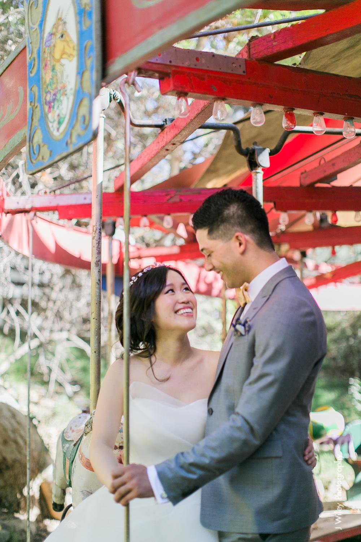 calamigos ranch malibu wedding pink confetti first look ferris wheel-1187