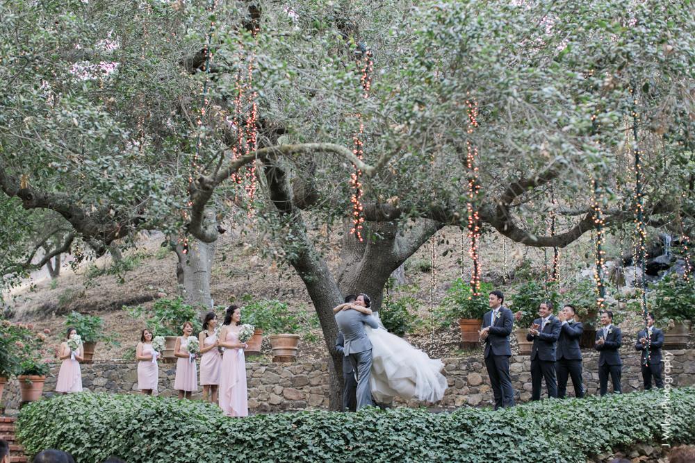 calamigos ranch malibu wedding pink confetti first look ferris wheel-1424