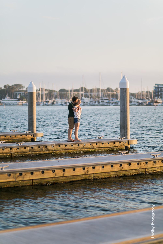 los angeles wedding photographer engagement photography santa monica marina venice beach boat nautircal causal fun dogs-1157