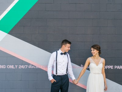 Super Hip Smog Shoppe Wedding: Los Angeles Wedding Photographer