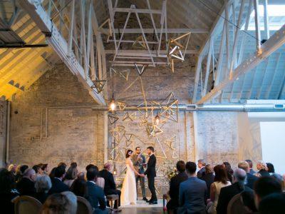 Emily + Spencer, Part II: HNYPT Warehouse Wedding: Downtown Los Angeles Wedding Photographer