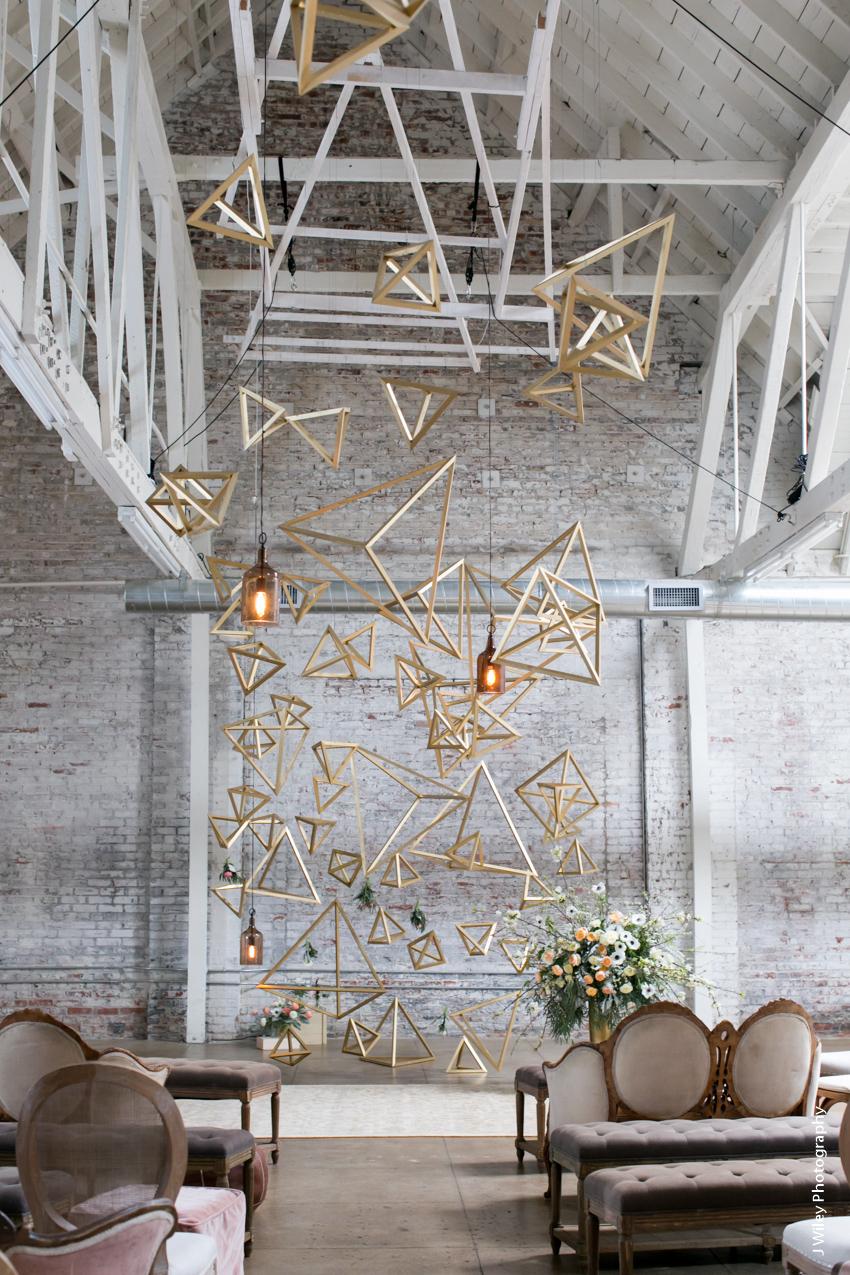 Hnypt Wedding Downtown Los Angeles Photographer Urban Warehouse Hipster Geometric 1380