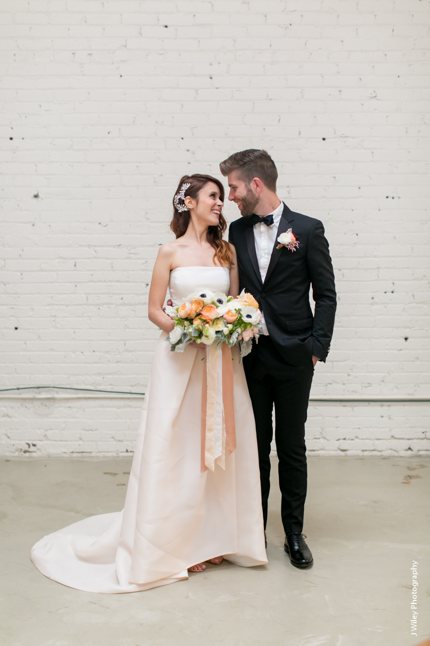 HNYPT Wedding Downtown Los Angeles Wedding Photographer Urban Industrial Warehouse Hipster Geometric-1545