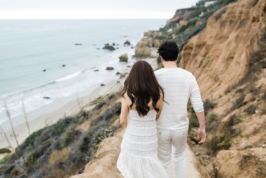 El Matador Beach Engagement Los Angeles Wedding Photographer-7949