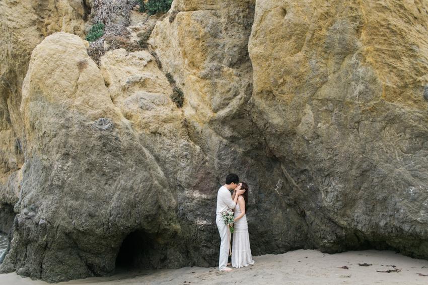 El Matador Beach Wedding Photographer Engagement Los Angeles Boho Bohemian Hipster-1004