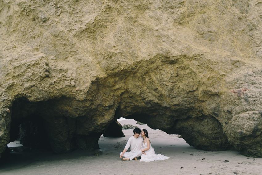 El Matador Beach Wedding Photographer Engagement Los Angeles Boho Bohemian Hipster-1010