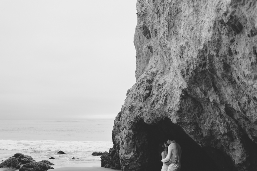 El Matador Beach Wedding Photographer Engagement Los Angeles Boho Bohemian Hipster-1012