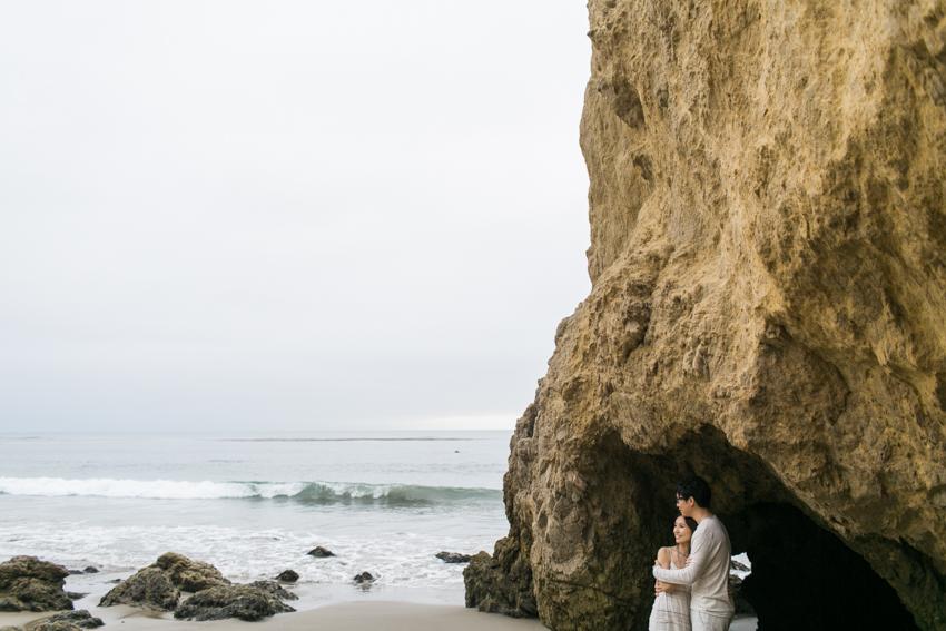 El Matador Beach Wedding Photographer Engagement Los Angeles Boho Bohemian Hipster-1013