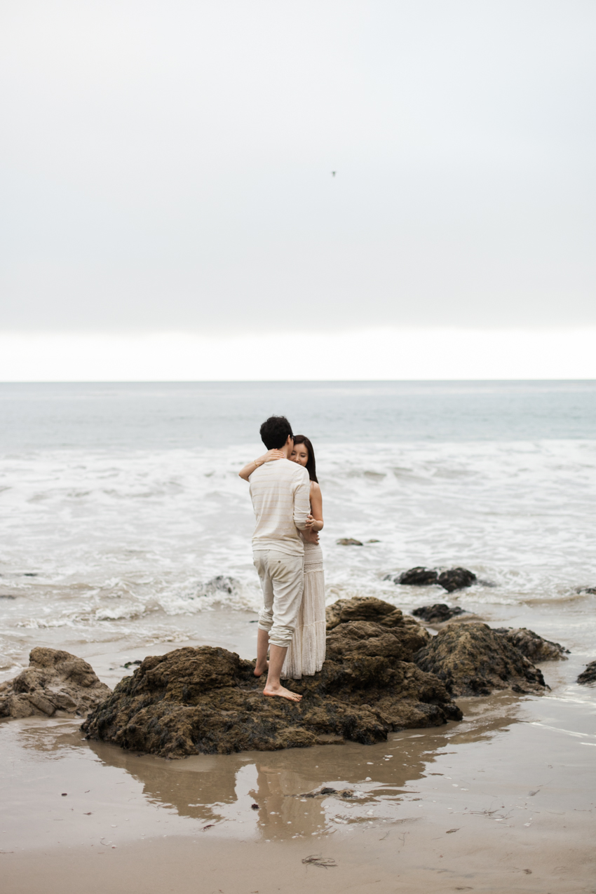 El Matador Beach Wedding Photographer Engagement Los Angeles Boho Bohemian Hipster-1018