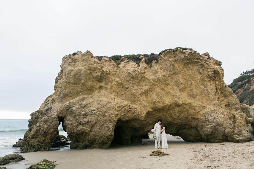 El Matador Beach Wedding Photographer Engagement Los Angeles Boho Bohemian Hipster-1023