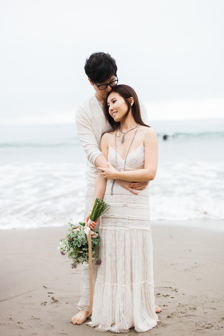 El Matador Beach Wedding Photographer Engagement Los Angeles Boho Bohemian Hipster-1026