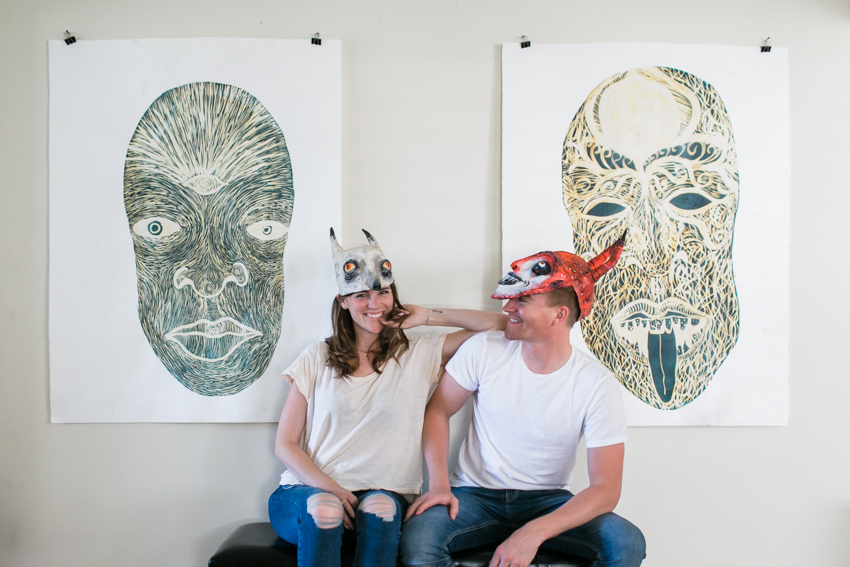 home engagement session los angeles hipster wedding photographer116-J Wiley Photography-2293