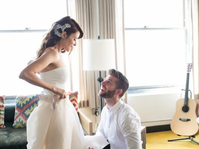 Emily + Spencer, Part I: Ace Hotel and HNYPT Warehouse: Downtown Los Angeles Wedding Photographer
