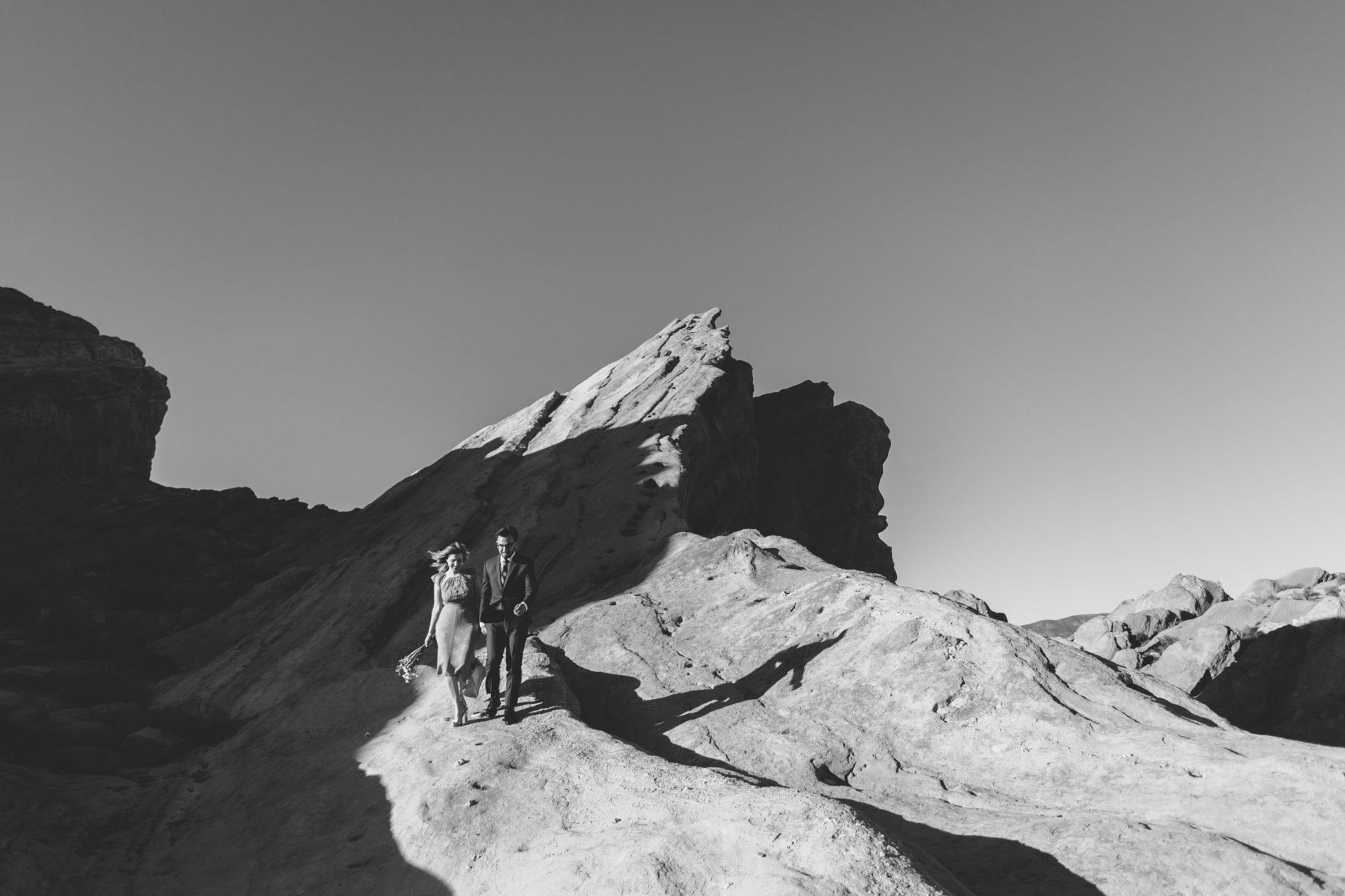 los angeles wedding photographer vasquez rocks mountains