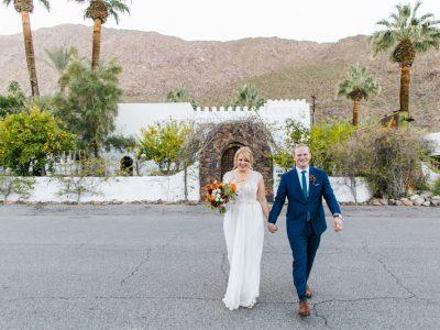 ASHLEY + MATT: KORAKIA PENSIONE PALM SPRINGS DESERT WEDDING