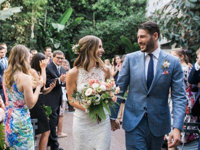 LAUREN + BRYAN: STYLISH LOS ANGELES ARTS DISTRICT WEDDING AT MILLWICK