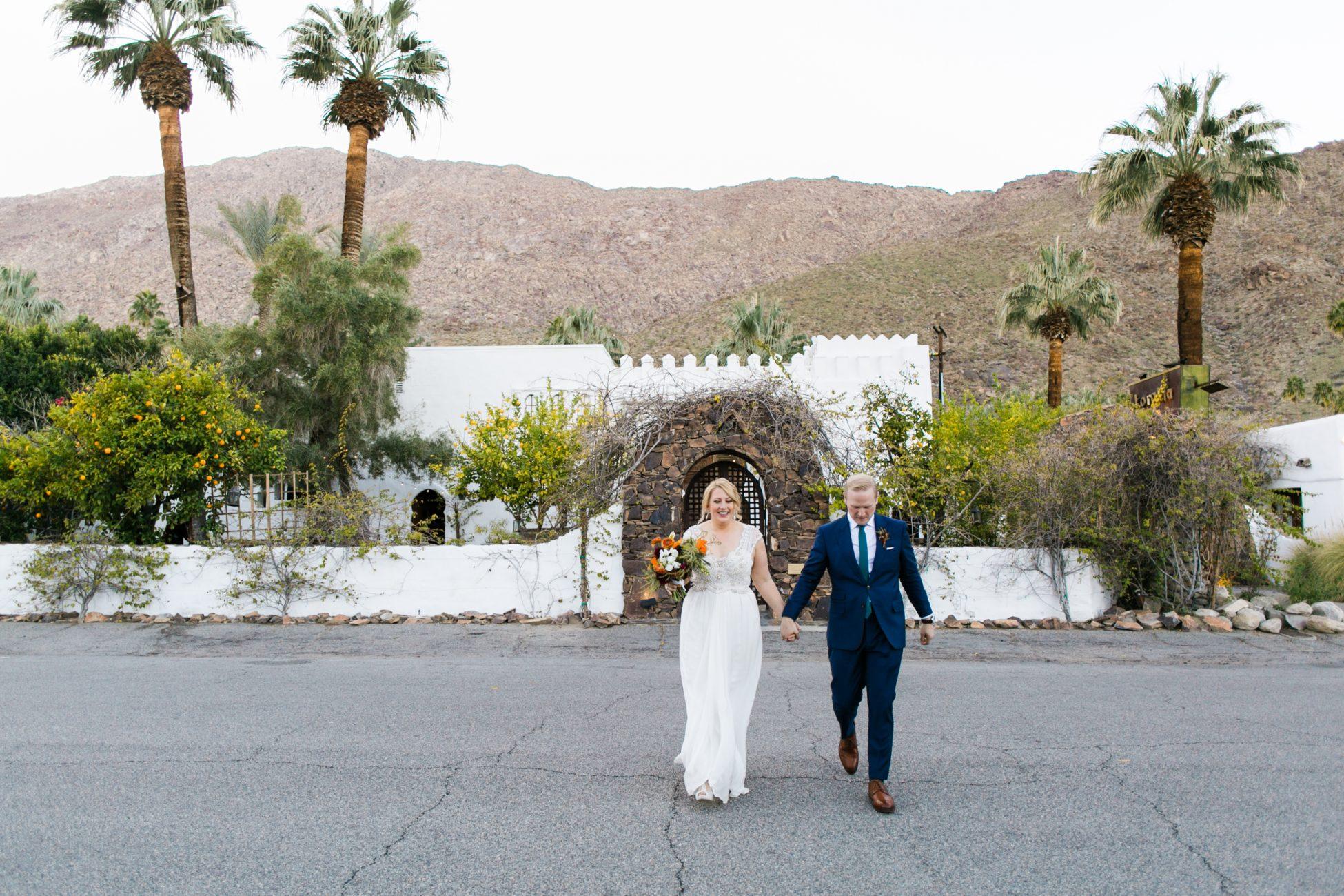 palm springs wedding photographer korakia pensione